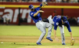 棒球訓練 — 搶接飛球