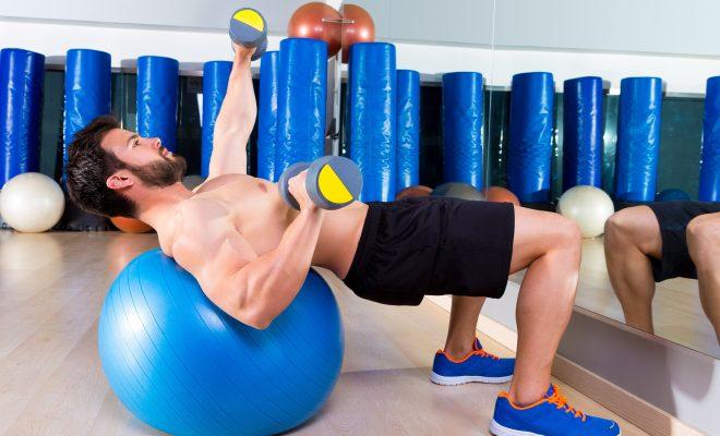 啞鈴重量訓練—胸部