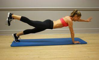 腹肌救星 棒式運動