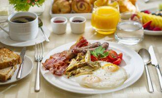 別怕,早餐吃多一點!