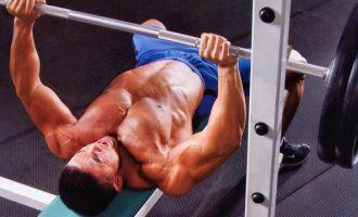 訓練堅挺厚實的胸肌—臥推