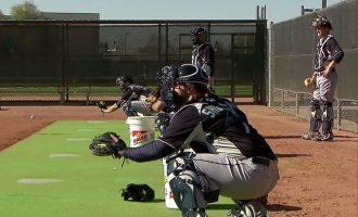 棒球訓練 — 捕手訓練(1)