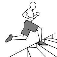 stair training figure4