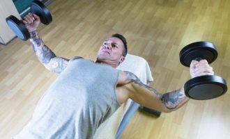 訓練結實飽滿的胸肌—啞鈴飛鳥