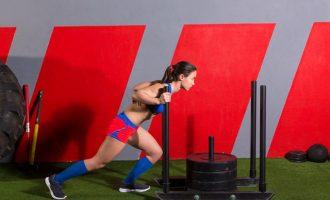 人體推進器—雪橇訓練