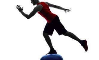 挑戰你的平衡感—BOSU半圓平衡球