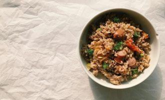 簡單料理—電鍋香腸番茄飯