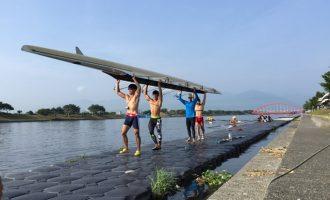 「因為堅持才能看見希望」!台灣划船代表隊