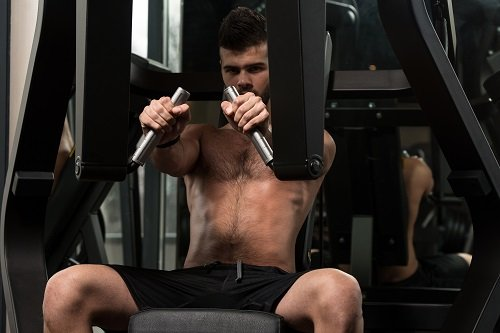 Chest Exercise On Machine