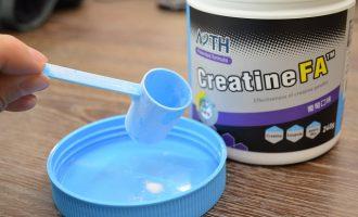 測試:CreatineFA效能型肌酸粉末