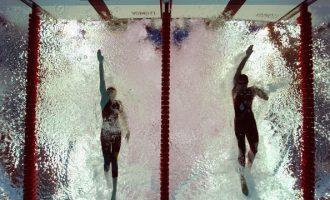 地表下最激烈的爭霸戰—游泳
