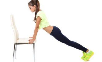 簡易居家燃脂術 椅子肌力間歇訓練