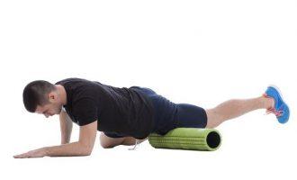 按摩滾筒+伸展,解除身體緊繃的危機